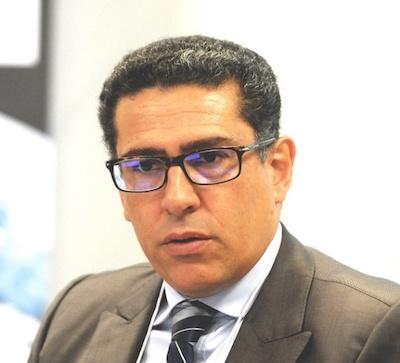 Karim El Aynaoui, Directeur général de l'OCP Policy Center basé à Rabat au Maroc.