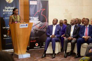 Nicole Sulu, directrice du Groupe Sulu en République démocratique du Congo et fondatrice du réseau d'affaires Makutano.